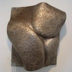 """Tickled"", 19 X 22.5 x 7"", ""Artifact Steel"", 2006 ■